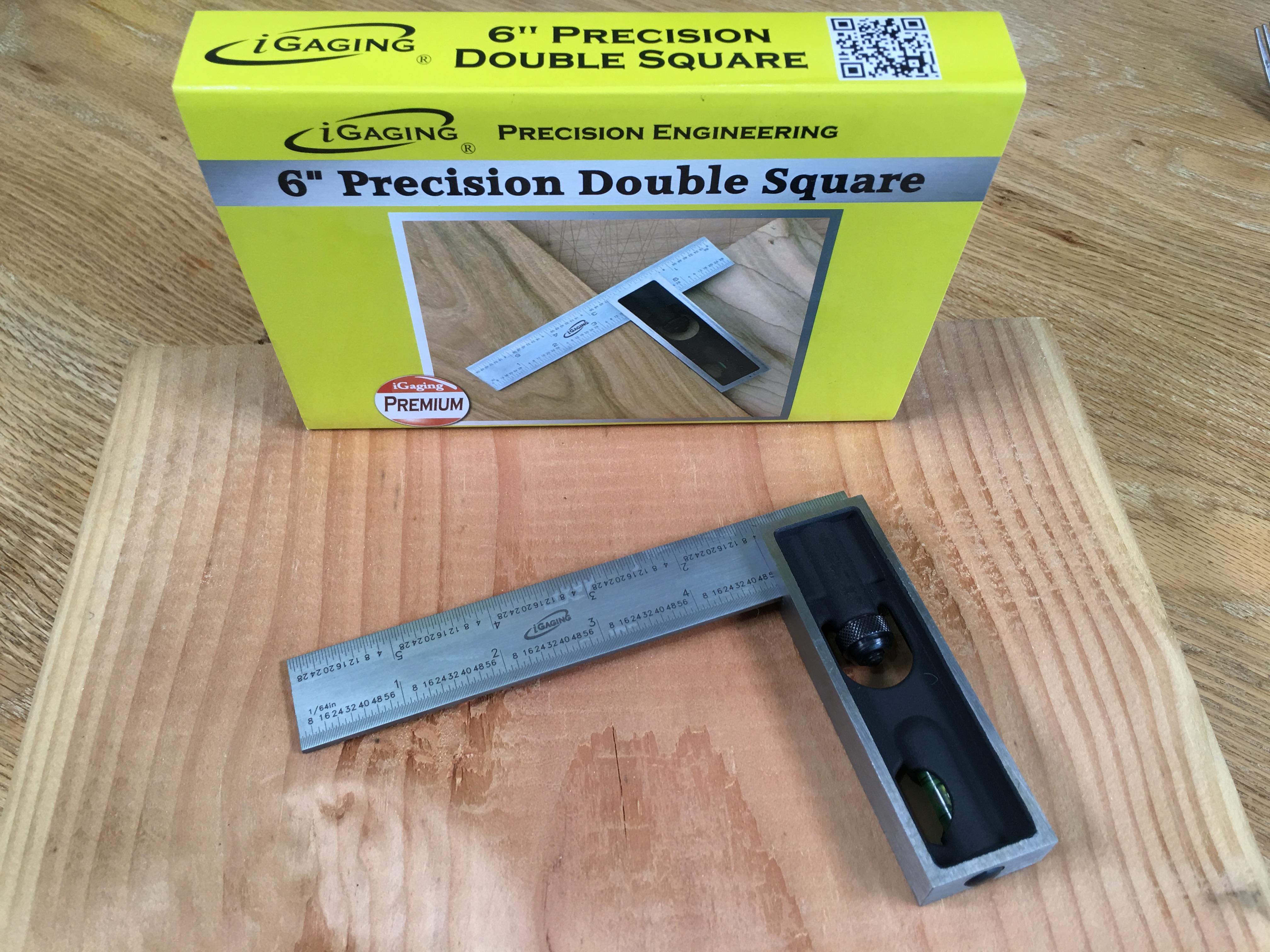 iGaging Premium 6 Steel Double Square